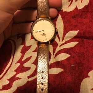 Rose Gold Leather Kate Spade Watch